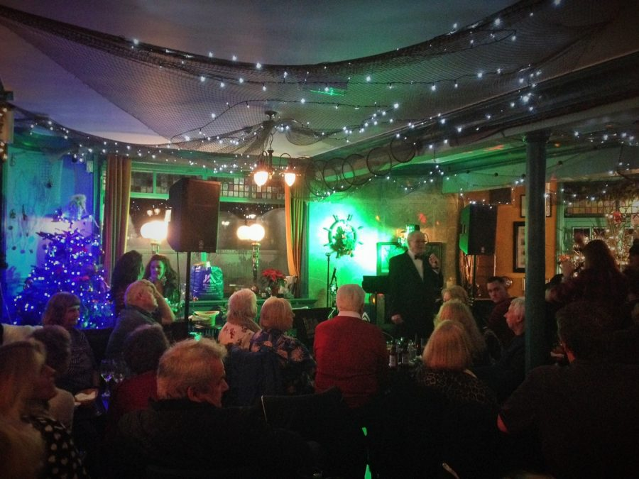 Rocking around the Christmas Tree – charity gig with the Skin and Blister Sisters
